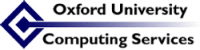 Logo of the Oxford University Computing Services